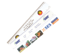 Laminated Card Rulers