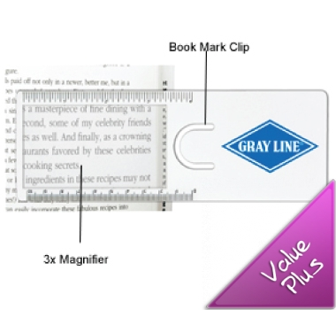 Easy Reader Magnifier Rulers