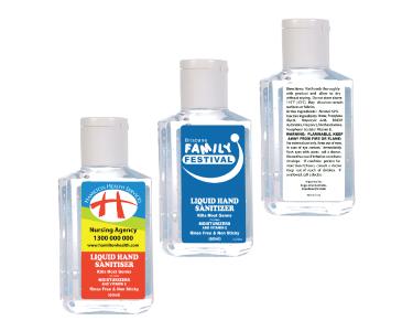 60ml Liquid Hand Sanitisers