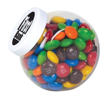 M&M's in a Container