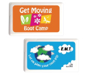 Rectangular Sugar Free Breath Mint Cards