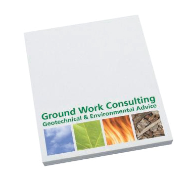 White Post It Notes 70mm x 75mm