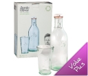 Jamie Oliver Water Bottle and Glass Set
